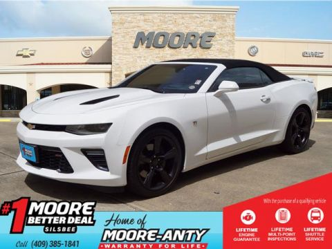 Pre-Owned 2017 Chevrolet Camaro SS